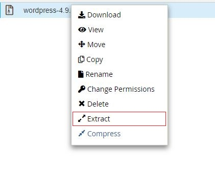 wordpress-extract