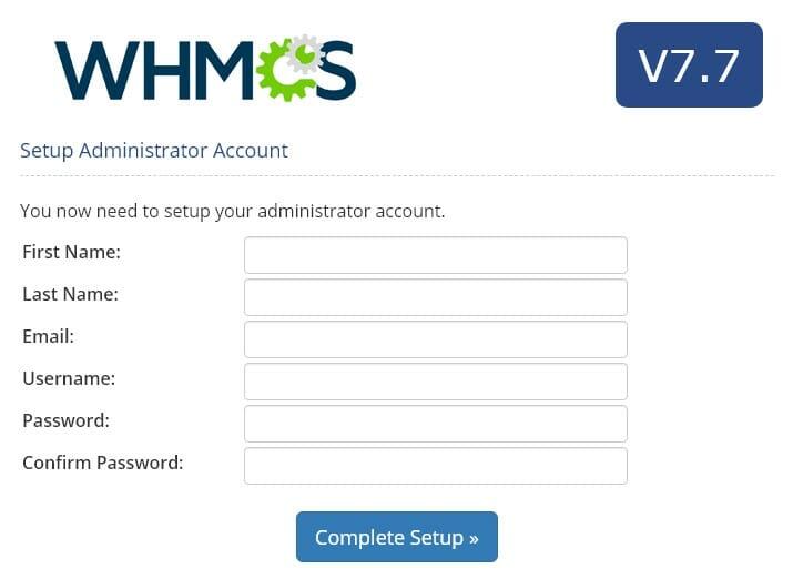 install whmcs نصب